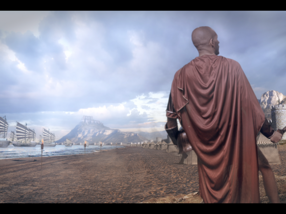 The Siege – Matte Painting